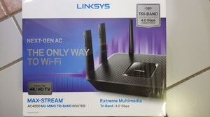 Linksys Next-Gen AC Router Max-Stream. **Brand New** for Sale in Pembroke Pines, FL