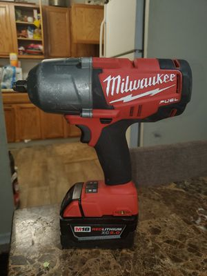 Wrench Milwaukee m18 fuel brusshless for Sale in Falls Church, VA