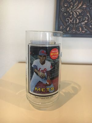 Nolan Ryan Collectable Glass 1993 for Sale in Riverview, FL