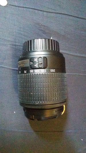 Nikon 50 to 200 millimeter Zoom SLR bayonet mount camera lens for Sale in Aberdeen, WA
