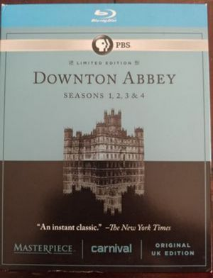 DOWNTOWN ABBEY SEASON'S #1--4 (BLU RAY) ***SEE OTHER POSTS*** for Sale in El Cajon, CA