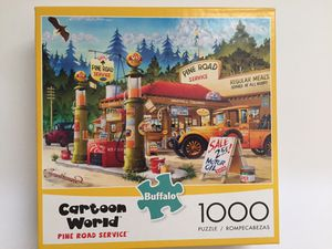 Buffalo Games Pine Road Service 1000pc Puzzle for Sale in Wadsworth, OH