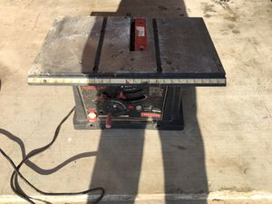 Craftsman 10 inch table saw for Sale in Austin, TX