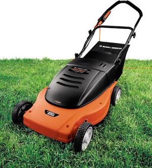 BLACK+DECKER MM875 Lawn Hog 19-Inch 12 amp Electric Mulching Mower with Rear Bag for Sale in Columbus, OH