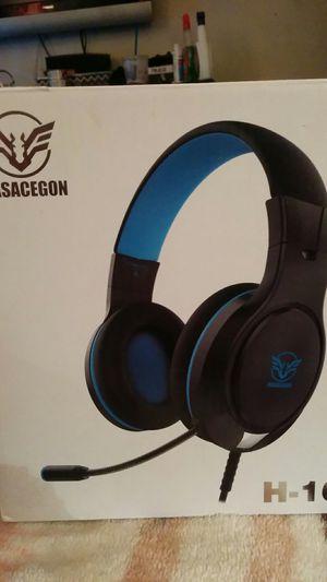 Masacegon H-10 gaming headphones for Sale in Menifee, CA