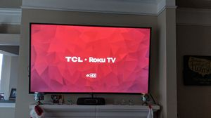"""TCL 65"""" 4K Roku TV for Sale in Austin, TX"""