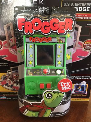 Arcade Classics Frogger Retro Mini Arcade Game for Sale in San Diego, CA