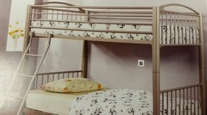Deluxe NEW Gold Convertible Bunkbed for Sale in Denver, CO