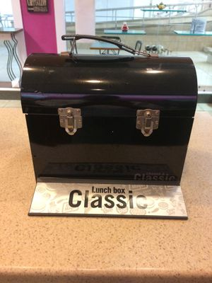 Classic tin lunch box for Sale in Cary, NC