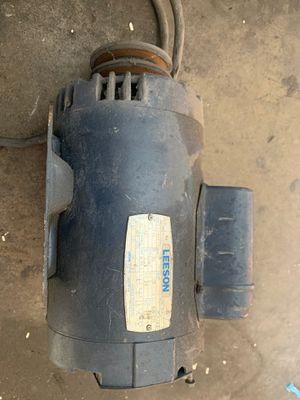 Industrial motor 220 leeson 2HP for Sale in Fullerton, CA