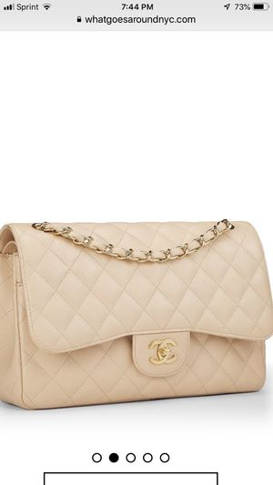 Chanel Jumbo beige caviar gold hardware bag for Sale in San Francisco, CA