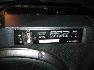 JBL amplifier club 5501 for Sale in El Cajon, CA