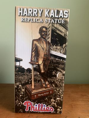 Harry Kalas Replica Statue for Sale in Philadelphia, PA