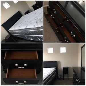 - FullSize Bedroom Set + Mattress Set - for Sale in Tolleson, AZ