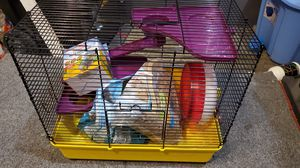 Hampster Cage and Supplies for Sale in Sumner, WA