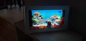 Moving Picture Aquarium Tropical Fish Light Motion Lamp with Ocean Sound for Sale in Matthews, NC
