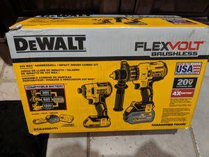 DeWalt flexvolt brushless 20 v and 60v 2 pc. Set for Sale in Fort Wayne, IN