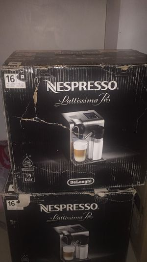 Nespresso Lattissima Pro by Delonghi for Sale in Weston, FL