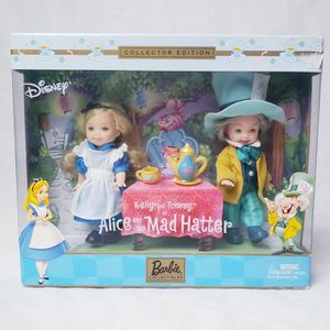 Barbie Kelly and Tommy as Disney Alice in the Wonderland Collectors Edition for Sale in Humble, TX