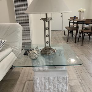 White Mirror End Tables for Sale in Long Beach, CA