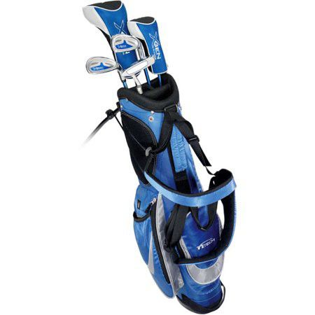 JUNIOR GOLF CLUB SET WITH STANDING BAG
