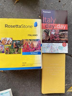 Rosetta Stone Italian for Sale in Los Angeles, CA