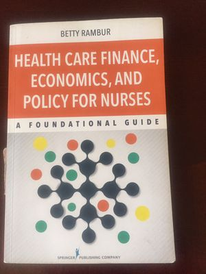 Health Care Finance, Economics, And Policy For Nurses for Sale in Lakewood, CO