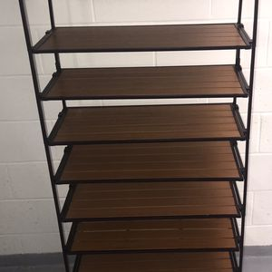 Seville Classics 2-Tier Iron Stackable Shoe Storage Rack for Sale in Brooklyn, NY