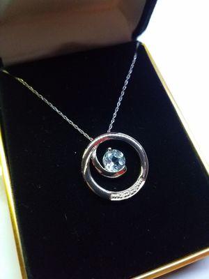 10k Gold Gemstone Necklace for Sale in Delavan, WI