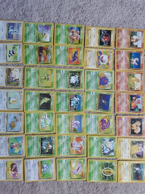Pokemon Cards lot 1999 to 2002 and 1st Editions for Sale in Herndon, VA
