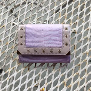 Small light Purple Wallet with Diamonds for Sale in Columbus, OH