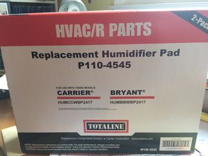 Carrier/Bryant humidifier pads P110-4545 for Sale in LUTHVLE TIMON, MD