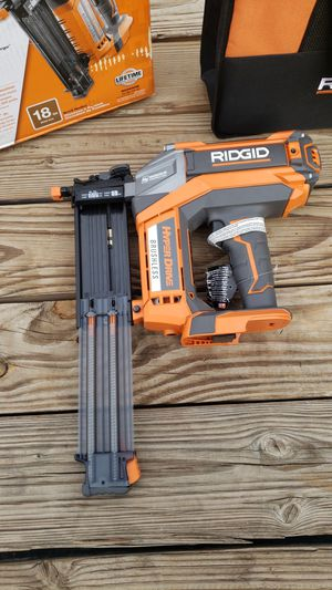 RIDGID 18-Volt Cordless Brushless HYPERDRIVE 18-Gauge 2-1/8 in. Brad Nailer (Tool Only) for Sale in Victorville, CA