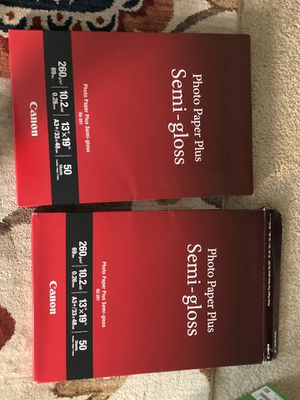 Canon Photo Paper Plus Semi-gloss SG-201 13x19 for Sale in Milpitas, CA