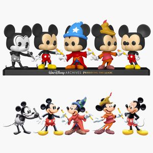 Disney Archives Mickey Mouse Funko 5 pack for Sale in Moreno Valley, CA