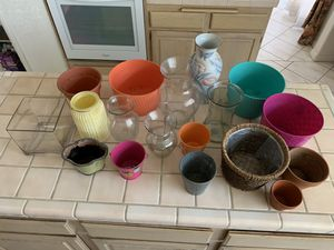Flower Vases Plant Pots for Sale in San Dimas, CA