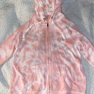 Aeropostale Light Pink Tye-Dye Hoodie for Sale in Stafford, VA