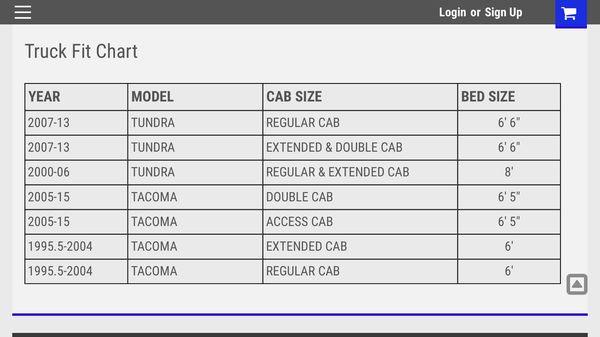 Toyota tundra and tacoma leer 122 camper shell