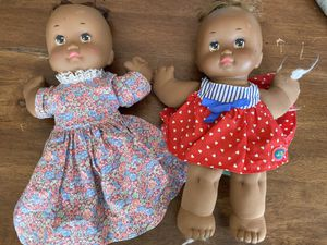 Pair of Vintage Black Mattel Baby Dolls for Sale in Des Moines, WA