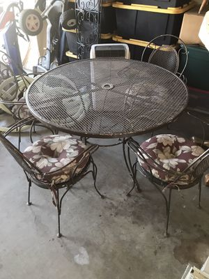 Patio Table Chairs Outdoor Furniture for Sale in Tempe, AZ