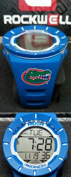 Brand New in Box Florida Gators Rockwell Coliseum 49mm Water Resistant Sport Watch w 8 Alarms & Lap/Split Countdown Timer Brand New in Box for Sale in Boca Raton, FL