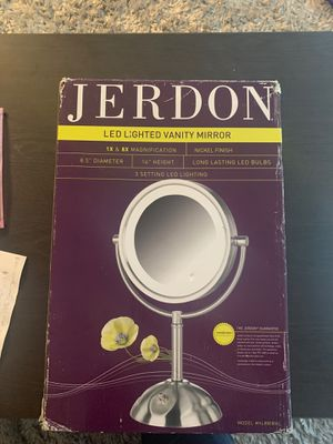 lighted mirror / jerdon for Sale in Takoma Park, MD