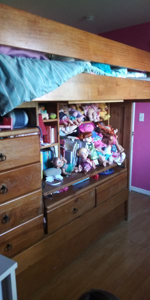 Full Bunk Bed with tween trundle bed. for Sale in San Jose, CA