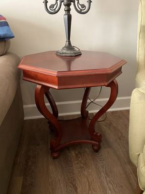 Dark Hard Wood Side Table for Sale in Spring Hill, TN