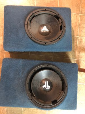 12 inch fiberglass subwoofer enclosures for Sale in San Diego, CA