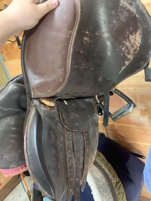 Saddle and martingale for Sale in Walkersville, MD