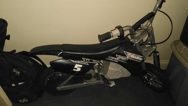 Razor electric dirt bike (??)