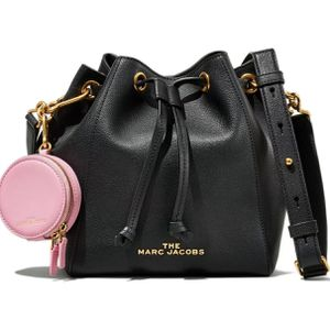 NWT Marc Jacobs The Bucket Bag Leather Crossbody Bag w/ Pouch BLACK AUTHENTIC for Sale in Huntington Beach, CA