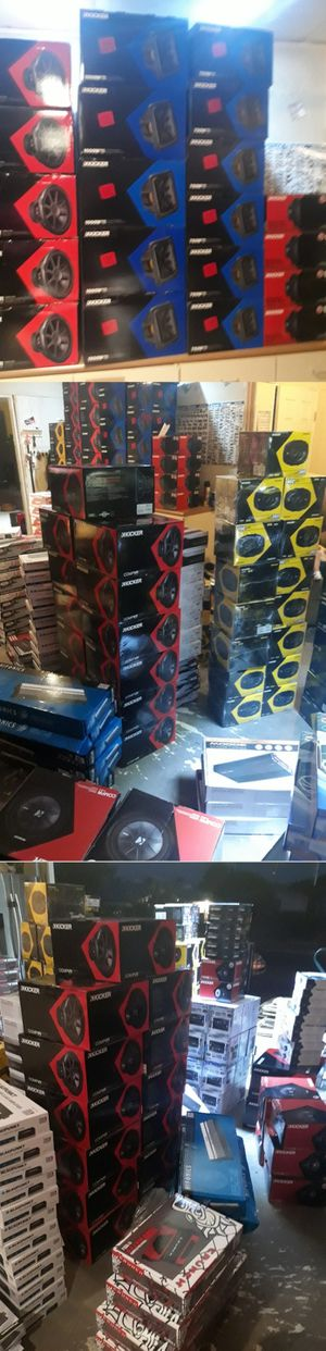 Best car audio , starting at 150 for Sale in North Las Vegas, NV