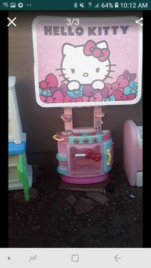 Hello kitty kitchen and sign for Sale in Phoenix, AZ